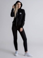 DRK x NEXT LEVEL ZIPPED HOODIE WOMEN