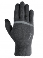 STRIPE KNITTED TECH AND GRIP GLOVES